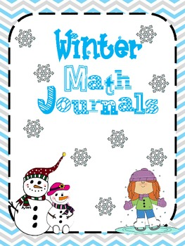 Math journals for the month of January