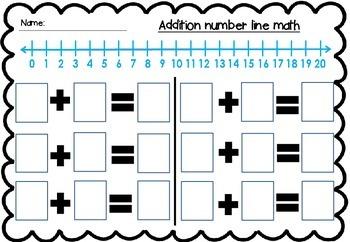 Math learning mat