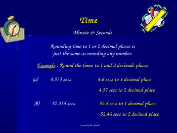 Math lesson on time