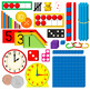 Math manipulatives set - 600+ COLOR PNG's