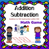 Math maze Addition to 100 Subtraction within 100 Mental math