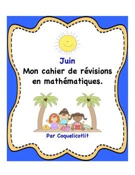 Math: mon cahier de révisions- juin