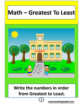 FIRST GRADE Maths - multiple worksheets pack