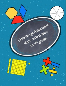 Math notions Word-image Association