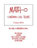 Math-o: Combining Like Terms