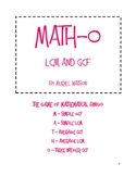 Math-o: Finding LCM and GCF