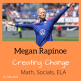 Megan Rapinoe: Math-Patterns and Ordered Pairs. Socials-In