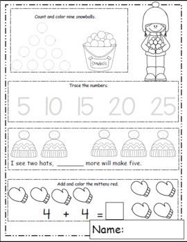 Math of the Month, Math Worksheets, Daily Math Sample, Back to School Ideas