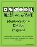 Math on a Roll -- Multiplication and Division (4th grade)