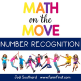 Math on the Move - Number Recognition