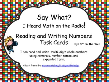 Math on the Radio - Number Forms Center