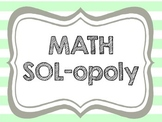 Math-opoly SOL Test Review Prep