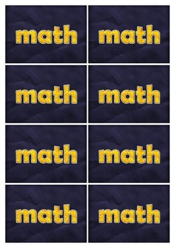 Math or Dare - A fun and engaging card game to learn times tables