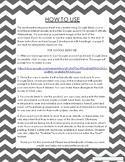Math or Reading Graphic Organizer // Interactive Google &