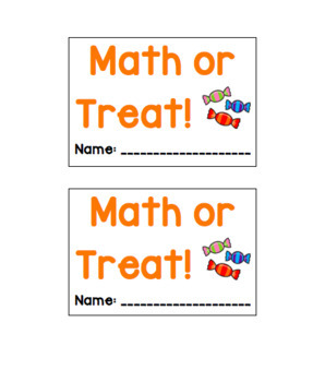 Math or Treat
