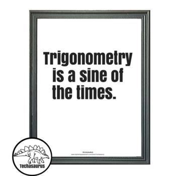 Math poster - Trigonometry