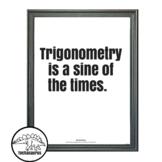 Math poster - Trigonometry Poster