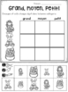 FRENCH Easter No Prep Math Worksheets (Pâques) - Cut & Paste (maternelle)