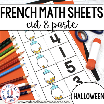 Math pour la maternelle - 15 feuilles de travail SANS ...