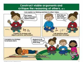 Math practices comics k-2