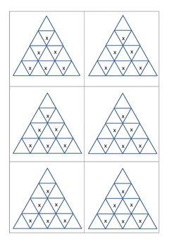 Math pyramid Bell Activities