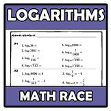 Math race - Carrera matemática - Logarithms - Logaritmos