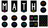 Math rotations display