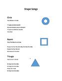 Math shape songs