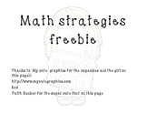 Math strategies posters (primary classroom)