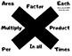 Math symbols and keywords