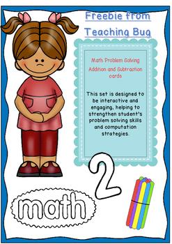 Math task Card FREEBIE