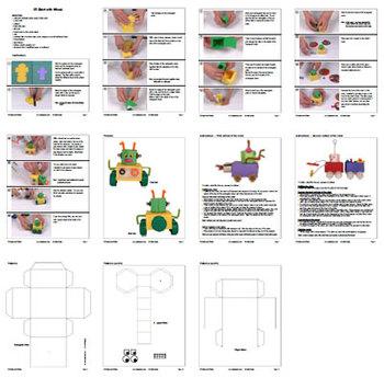 Math through Visual Arts: Hexagonal Prism