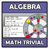 Math trivial - Algebra