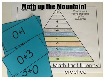 Math up the Mountain Fact Fluency
