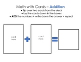 Math with Cards - Game