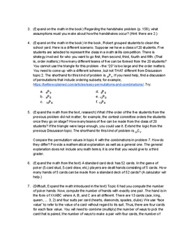 Math with Computer Coding Based on The Number Devil, Chapter 8