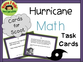 Math with Decimals and Hurricanes