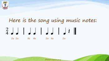 Math and Music In the Classroom, Lesson 3-12