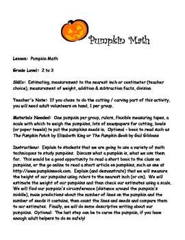 Math with Pumpkins