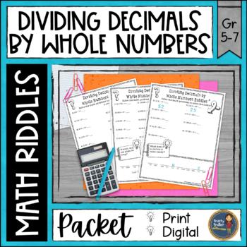 Dividing Decimals 1 Math with Riddles