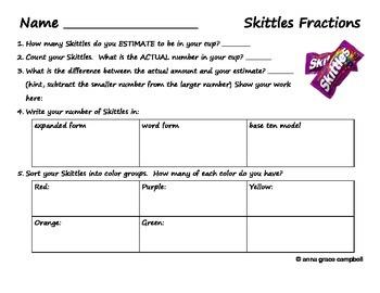 Math with Skittles