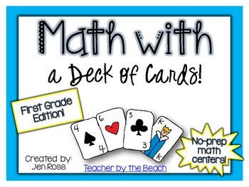 Math with a Deck of Cards {1st Grade Edition}