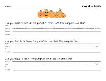 Math with a Pumpkin!
