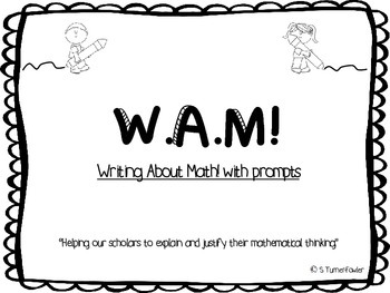 Math with a W.A.M! prompts