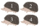 Math with hedgehogs 1-5