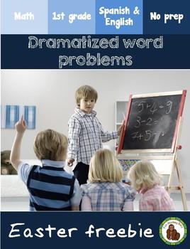 Math word problems (Easter) Problemas dialogados (Pascua)