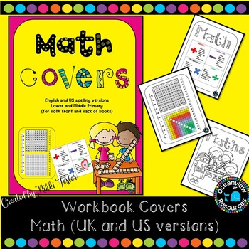 Math facts -easy reference workbook covers