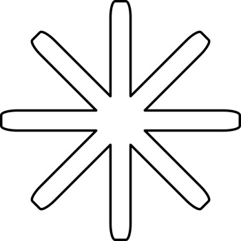 Math worksheet 015 - How many lines of symmetry?