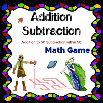Math worksheets Addition to 50 Subtraction within 50 Mental Math