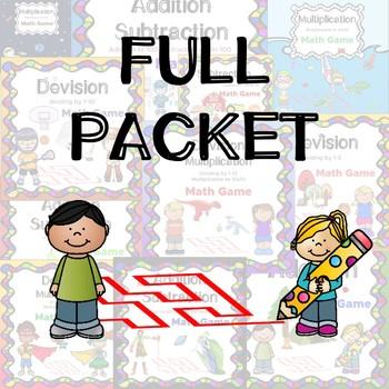 Mental Math FULL  PACKET